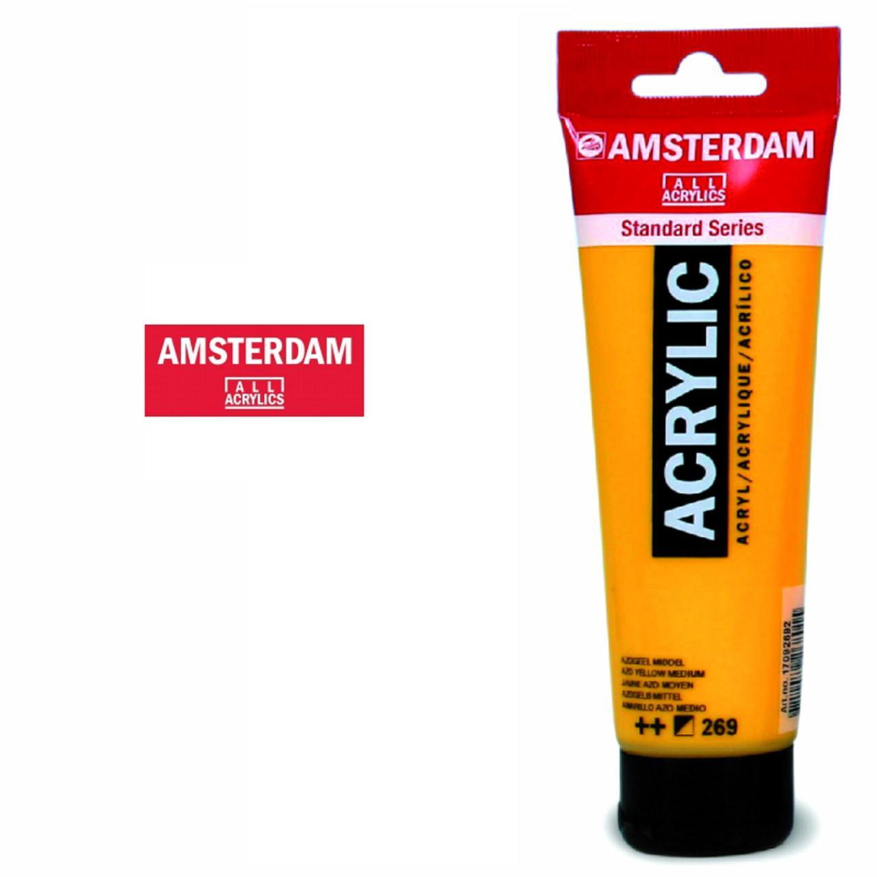 Couleur Acrylique Fine Amsterdam 120ml Peinture Acrylique Fine